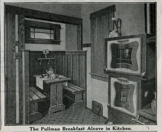 Sears Ashmore Breakfast Alcove 1916