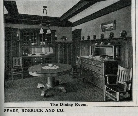 Sears Ashmore Dining Room 1916