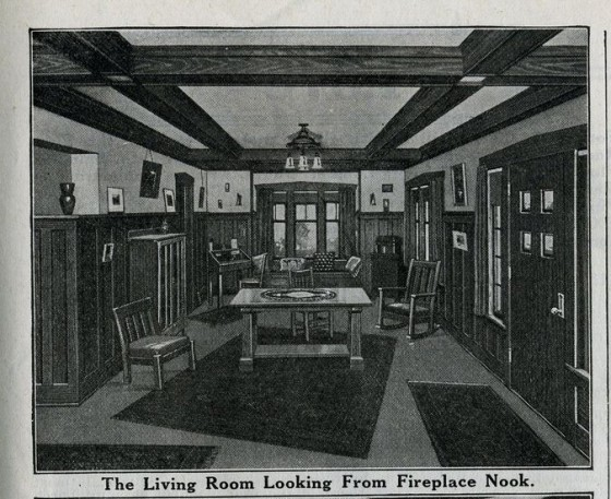 Sears Ashmore Living Room 1916