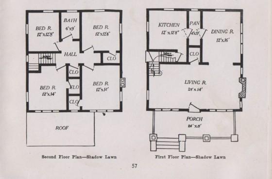 1917 floor plan