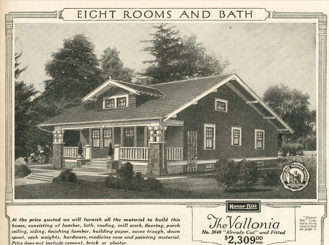 A sears vallonia in springdale cincinnati sears houses for House plans ohio