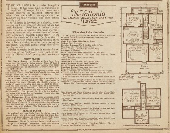 1925 floor plan