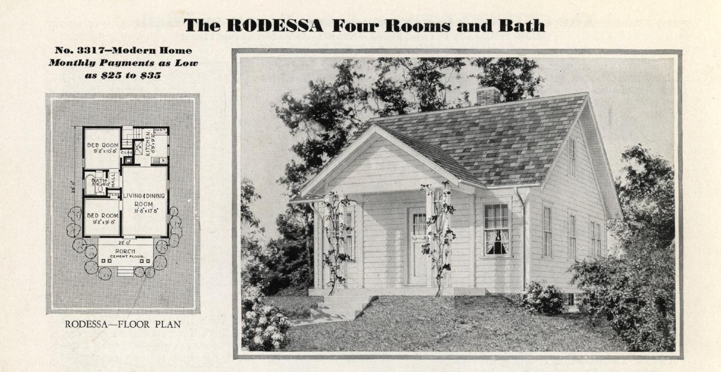 The Most Popular Sears Model in Cincinnati – Sears Homes Floor Plans