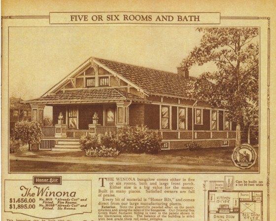 Sears Winona image 1925