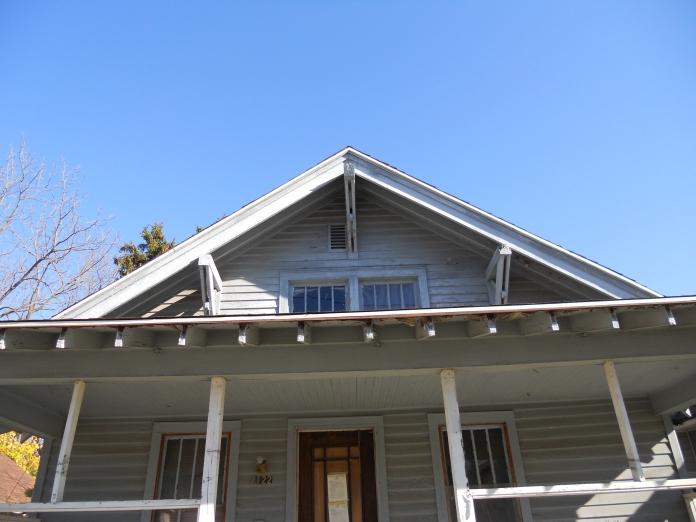 Sears Winona front porch details