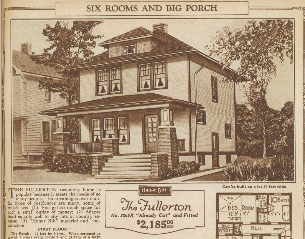 A sears fullerton in dayton sears houses in ohio for Dayton home designs