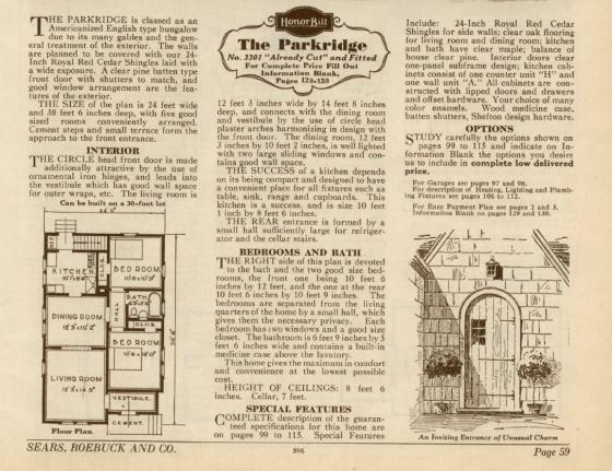 1930 floor plan