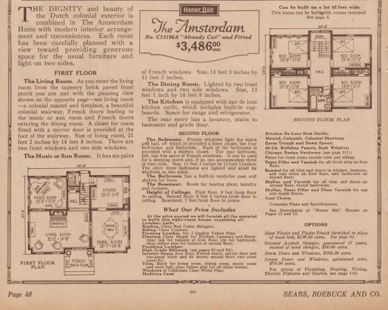 floor plan 1926