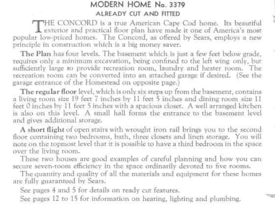 Concord details 1936