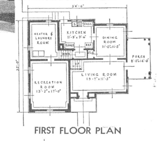 Concord first floor 1936