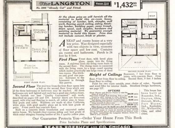 floor plan 1918