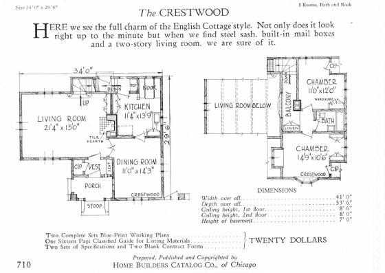 1927 floor plan