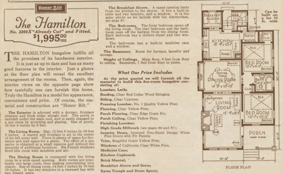 floor plan 1925