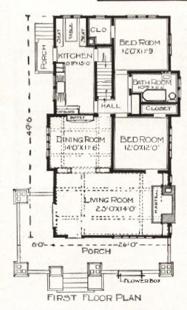 1918 first floor plan