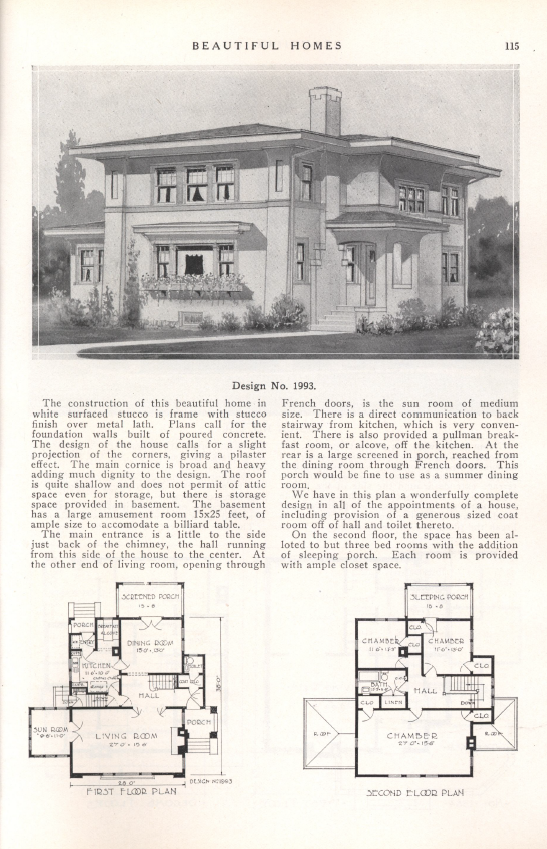 Keith Corp Beautiful Homes 1925