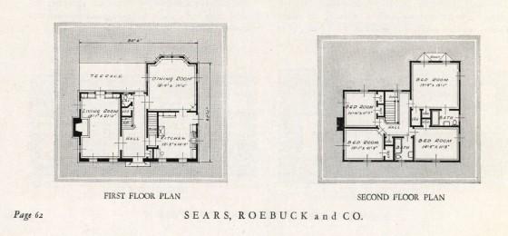 1932 floor plan