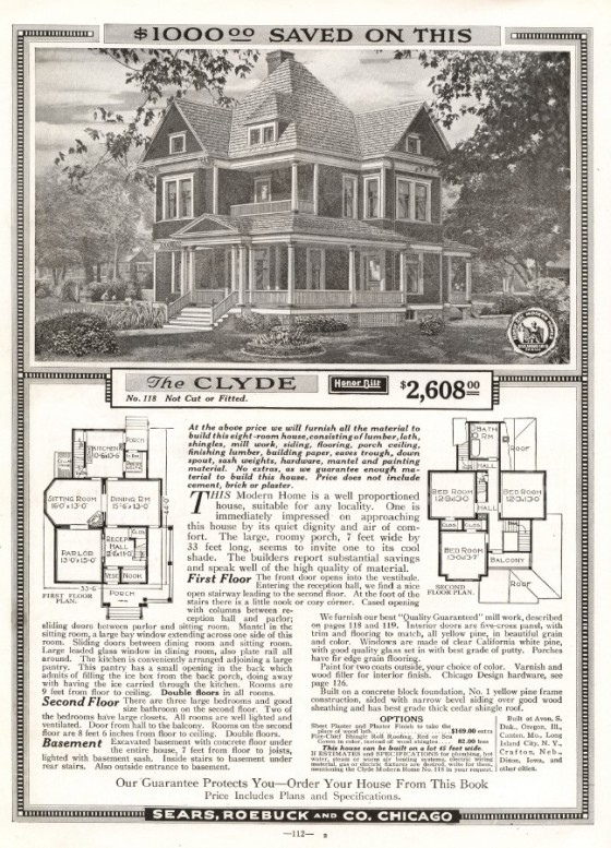 Clyde 1918 catalog