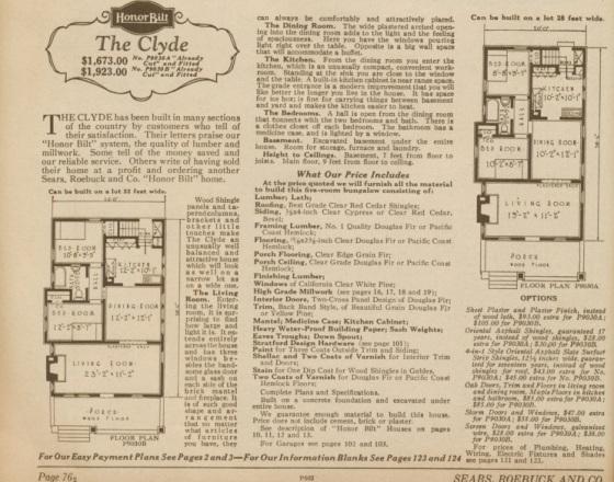 floor plan 1928