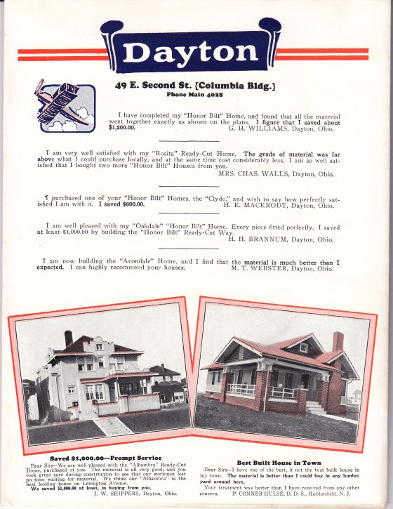 Happy Homes brochure Dayton