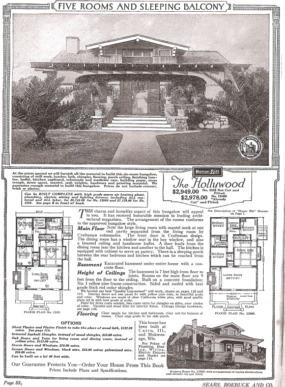 S Hollywood 1922 catalog