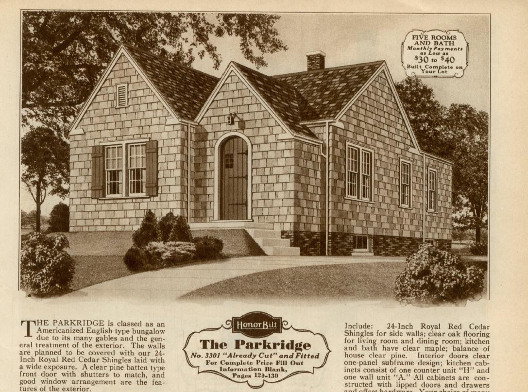 Sears Parkridge 1930 image