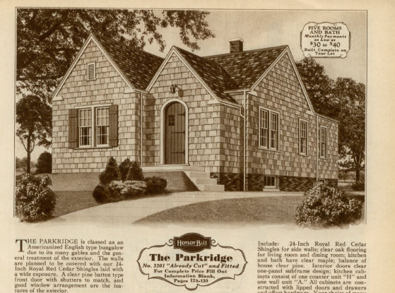 Sears Parkridge 1930 image