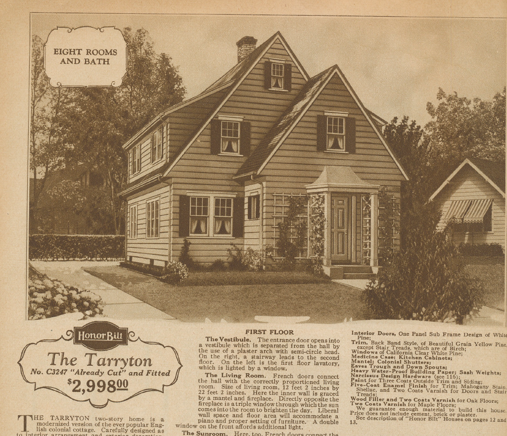Sears Tarryton image 1928