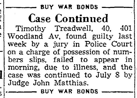401 Woodland 1 July 1944