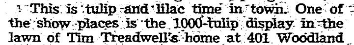 401 Woodland 9 May 1952