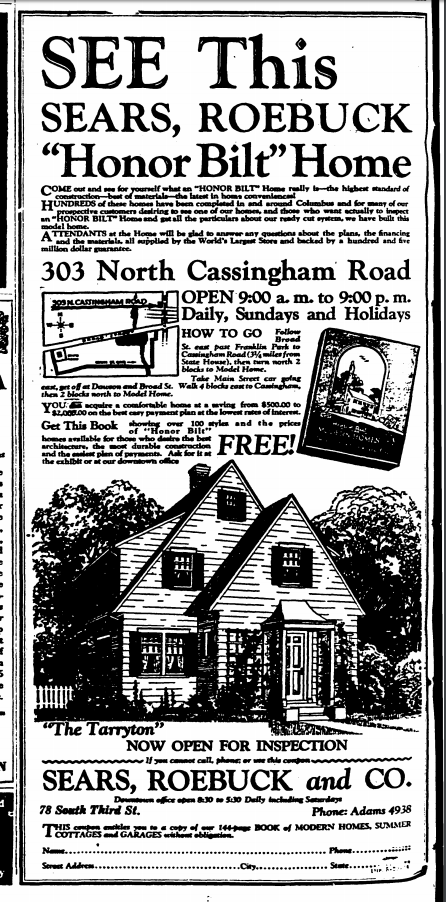Columbus Evening Dispatch 29 May 1928