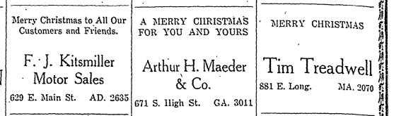 Merry Christmas 1938