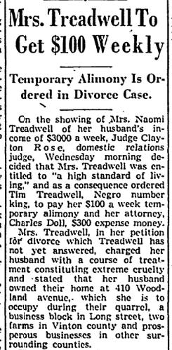 Tim Treadwel 10 Nov 1937