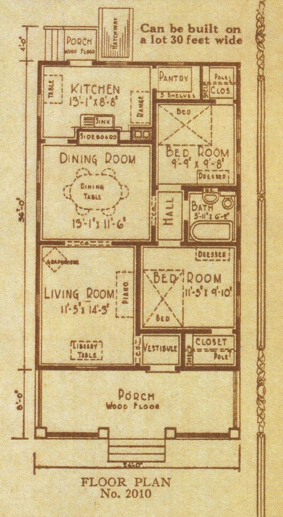 85 The Winona floor plan 2010