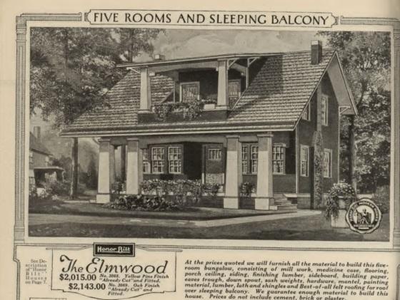 Sears Elmwood image 1921