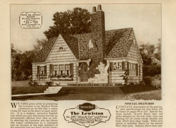 Sears Lewiston image 1930