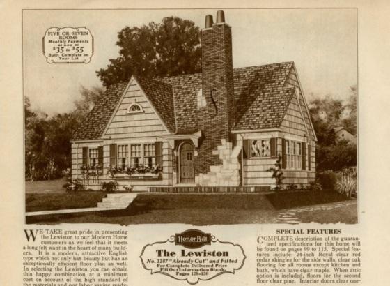 Sears Lewiston image 1930