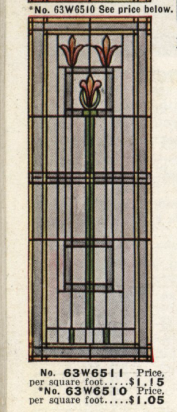 Art Glass window from Bldg Materials catalog