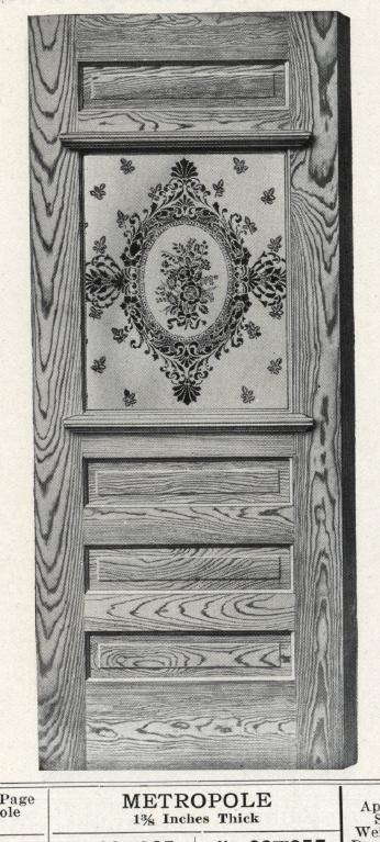 Metropole Exterior Door 1912