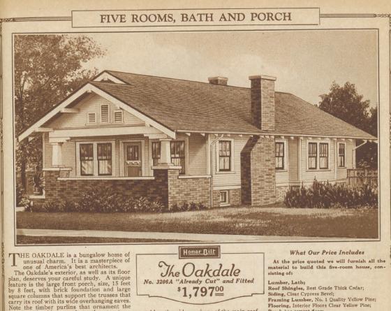 Sears Oakdale image 1925