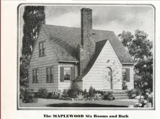 Sears Maplewood image 1931